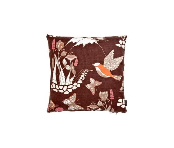 Nattviol multi brown Cushion by BANTIE | Cushions