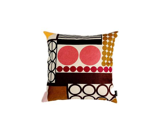 Palett brown I pink Cushion by BANTIE | Cushions