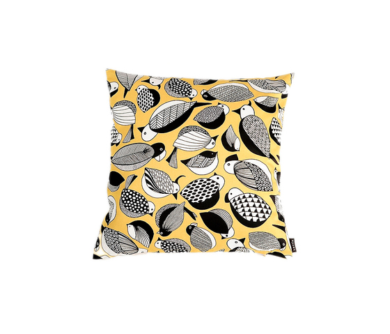 Paradis yellow Cushion by BANTIE | Cushions