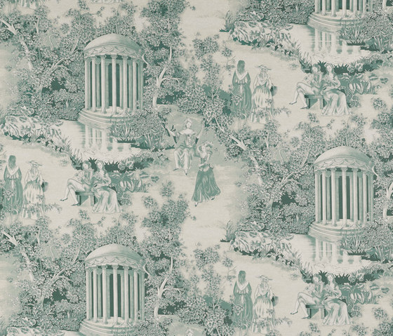 Fontainebleau Jade by Equipo DRT | Curtain fabrics