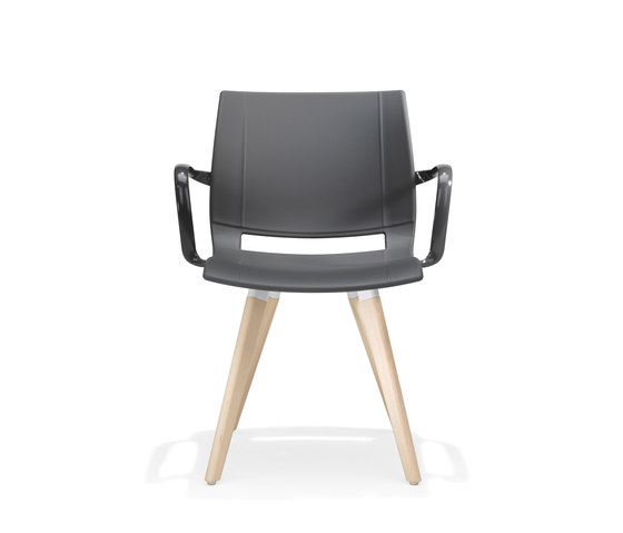 2080/3 uni_verso by Kusch+Co | Visitors chairs / Side chairs