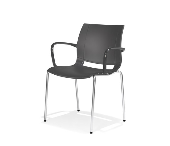 2000/4 uni_verso by Kusch+Co | Visitors chairs / Side chairs