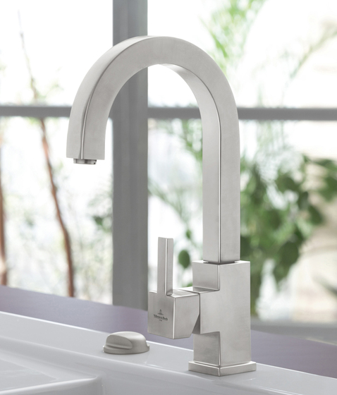 ARTist Single-lever mixer for sink by Villeroy & Boch | Kitchen taps