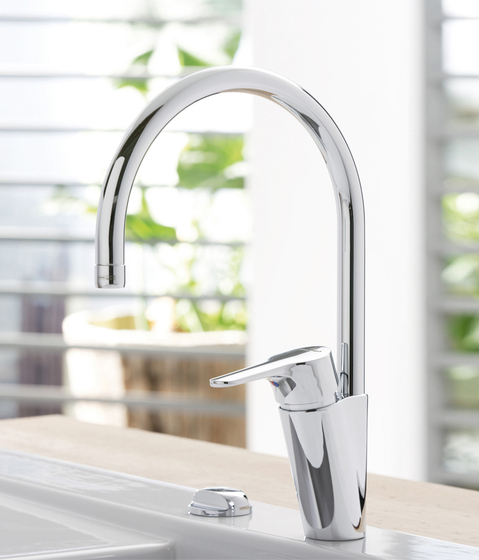 Cassio Single-lever mixer for sink by Villeroy & Boch | Kitchen taps