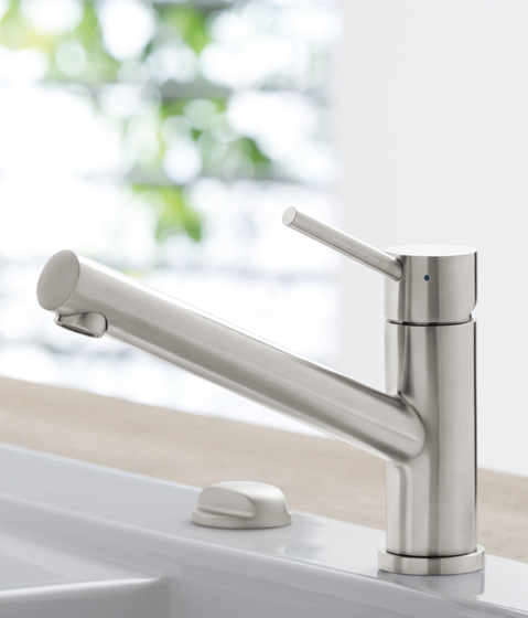 Como Single-lever mixer for sink by Villeroy & Boch | Kitchen taps