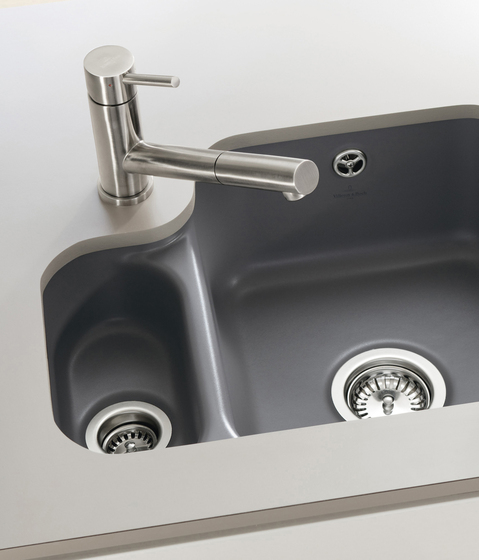 Como Shower Single-lever mixer for sink by Villeroy & Boch | Kitchen taps