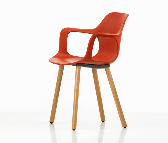 HAL Armchair Wood by Vitra | Multipurpose chairs