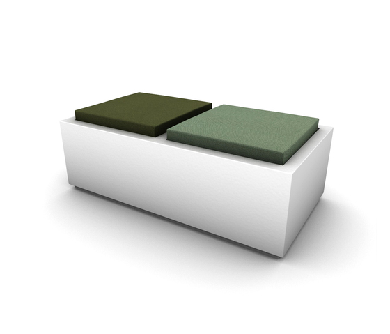 Pads by JSPR | Modular seating elements