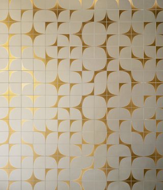 Rumi - White Gold by Kale | Ceramic tiles