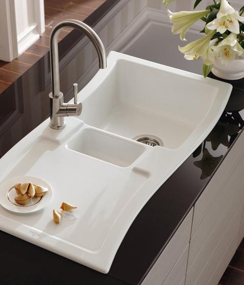 NewWave 60 Built-in sinks by Villeroy & Boch | Kitchen sinks