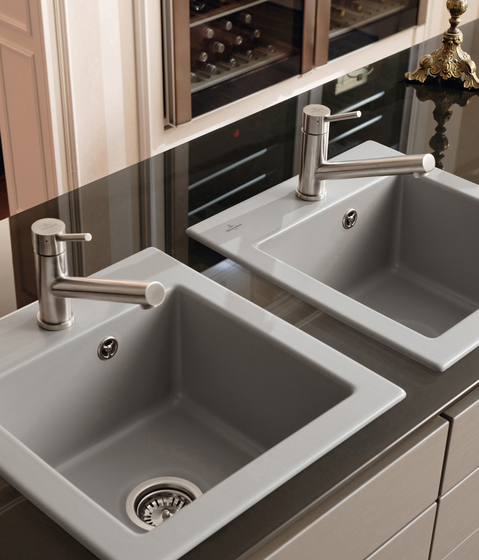 Subway XS Built-in sink by Villeroy & Boch | Kitchen sinks