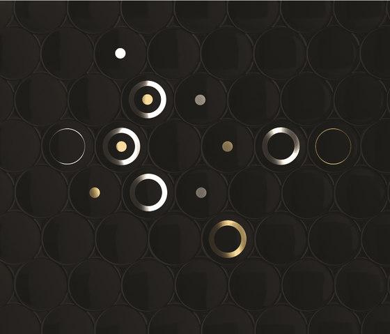 Dot - Black by Kale | Wall tiles