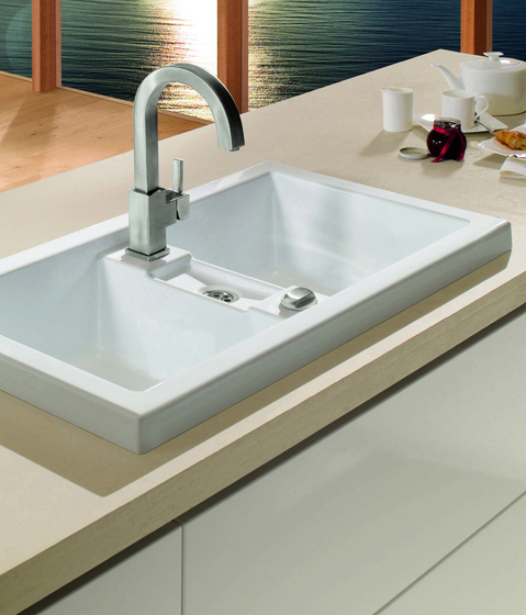 Metric Art 90 Built-in sink di Villeroy & Boch | Lavelli