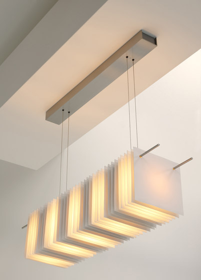 Thincut by Cordula Kafka | Suspended lights