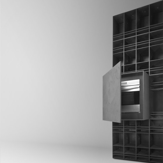 MN501 riposami by HENRYTIMI | Office shelving systems