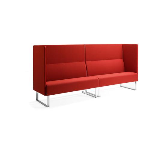 Monolite 2-seater sofa von Materia | Loungesofas