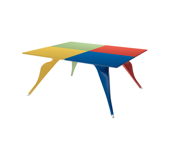 Macaone I 7020 by Zanotta | Dining tables