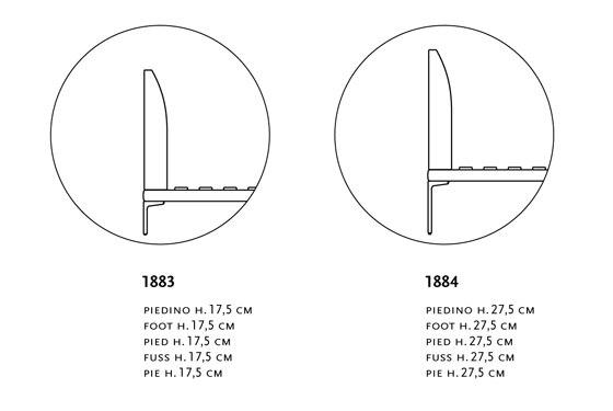 Talamo I 1883/1884 de Zanotta | Camas dobles