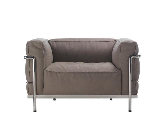 divani sedute lc3 divano cassina le corbusier pierre. Black Bedroom Furniture Sets. Home Design Ideas