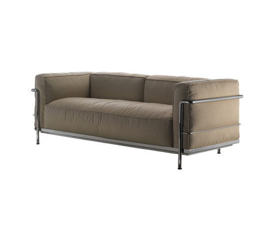 LC3 Outdoor 2-seater by Cassina | Garden sofas