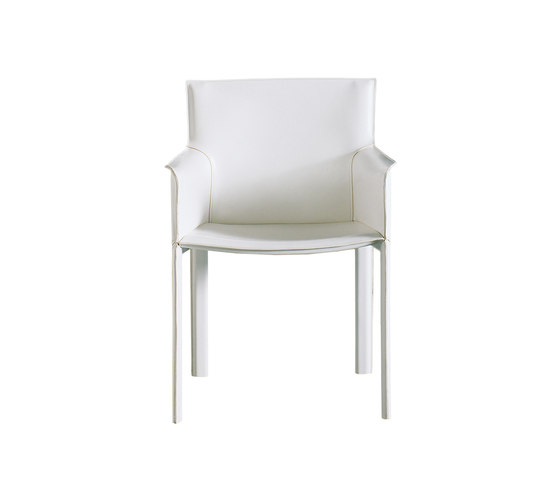 Pasqualina Armchair by Enrico Pellizzoni | Visitors chairs / Side chairs