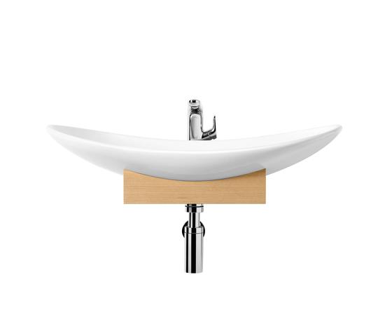 My Nature Surface-mounted washbasin by Villeroy & Boch | Wash basins