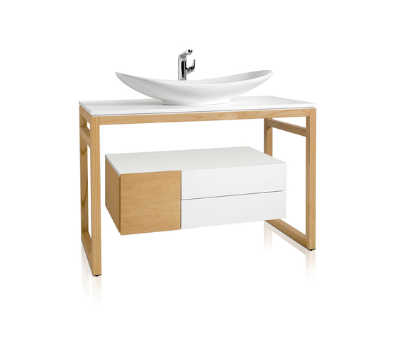 My Nature Bathroom furniture by Villeroy & Boch | Wall cabinets