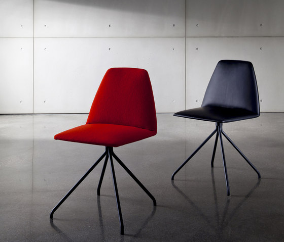 Sila Chair Trestle by Sovet | Visitors chairs / Side chairs
