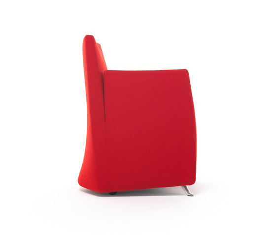 Caprichair armchair by Baleri Italia by Hub Design | Visitors chairs / Side chairs