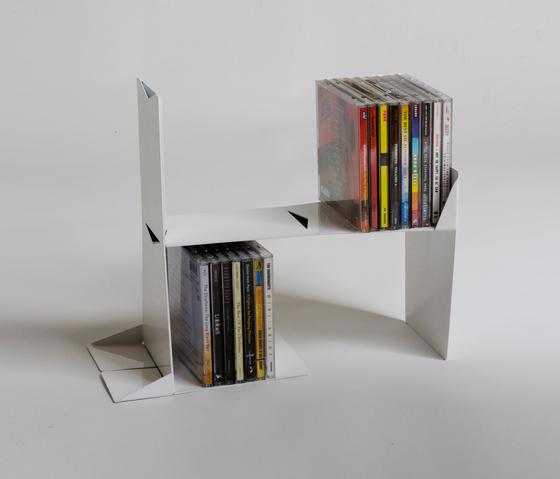 Dividendo by Baleri Italia by Hub Design | CD racks