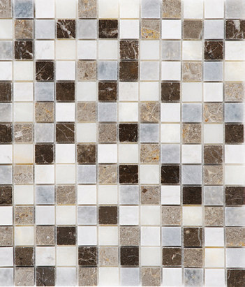 Bardiglio - Blue Lagoon Mosaic Polished by Kale | Floor tiles