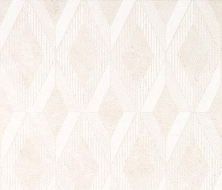 Marfil - Diamond Full Decor White by Kale | Tiles