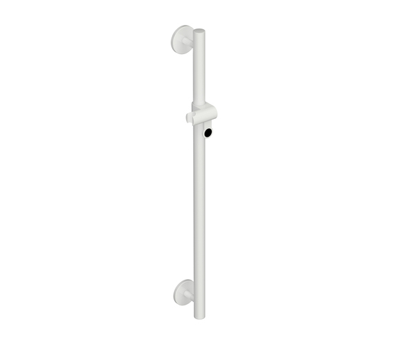Rail with shower head holder by HEWI | Shower taps / mixers