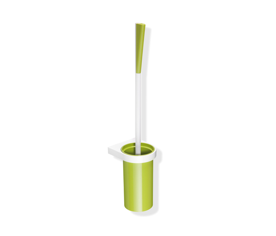 Toilet brush unit by HEWI | Toilet brush holders
