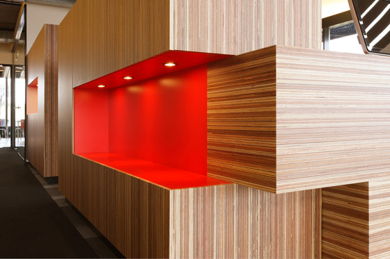 Plexwood - Meranti by Plexwood | Wood panels