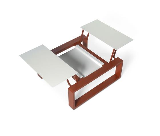 Kama Duo Modular Table XS von EGO Paris | Garten-Couchtische