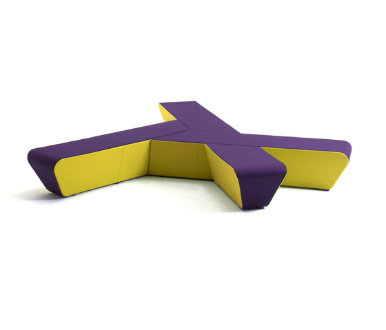 Runway by +Halle | Modular seating elements