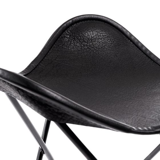 Hardoy   Stool Organic Buffalo Leather di Manufakturplus   Sgabelli