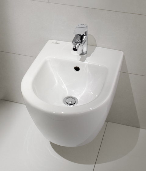 Subway 2.0 Bidet compact by Villeroy & Boch | Toilets