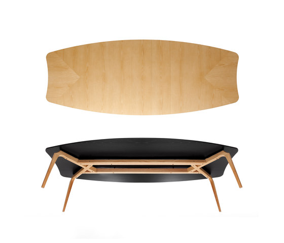 Gaulino Table by BD Barcelona | Conference tables
