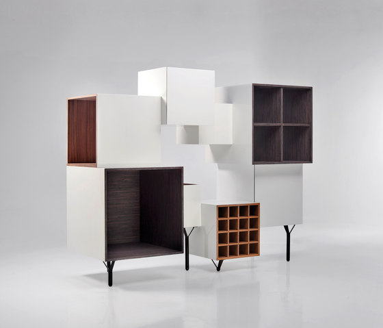 Free Port Cabinet by BD Barcelona | Shelving systems