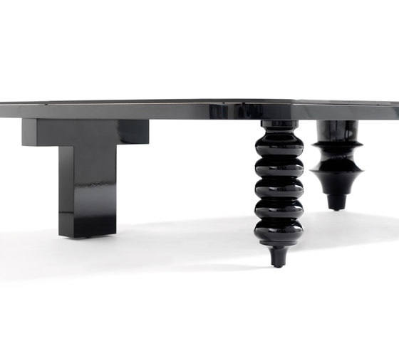 Showtime Multileg Low Table di BD Barcelona | Tavolini da salotto