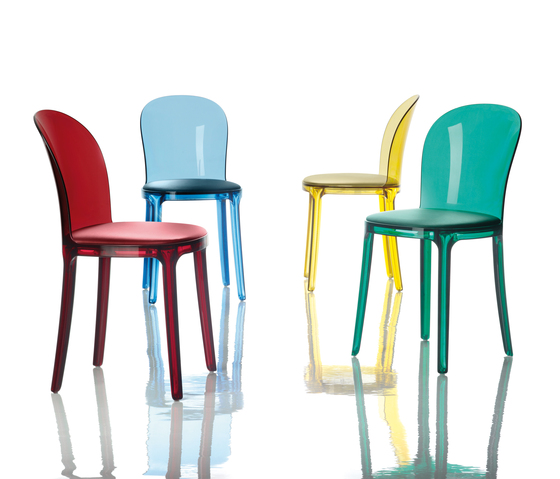 Murano Vanity Chair by Magis | Visitors chairs / Side chairs