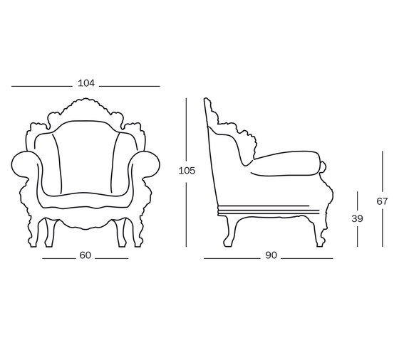 Magis Proust by Magis | Garden armchairs