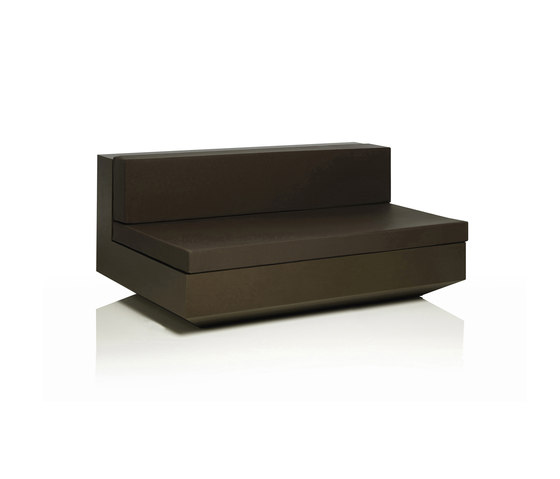 Vela sofa central unit XL by Vondom | Modular seating elements