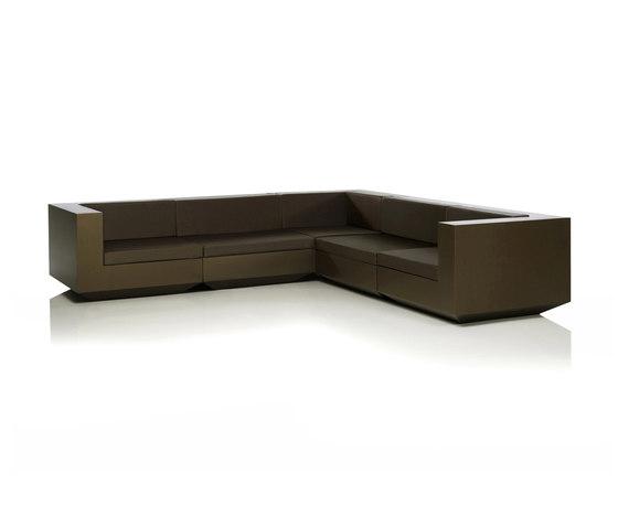 Vela sofa modular di Vondom | Divani da giardino