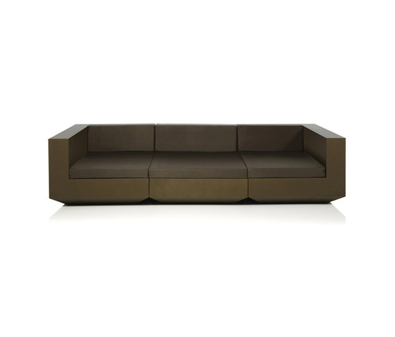 Vela sofa modular von Vondom | Gartensofas