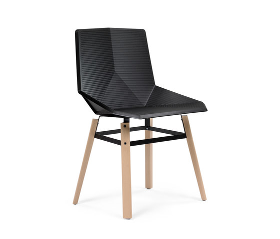 Green | eco wood by Mobles 114 | Visitors chairs / Side chairs