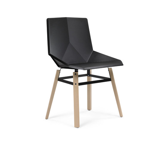 Green Eco wooden by Mobles 114 | Visitors chairs / Side chairs
