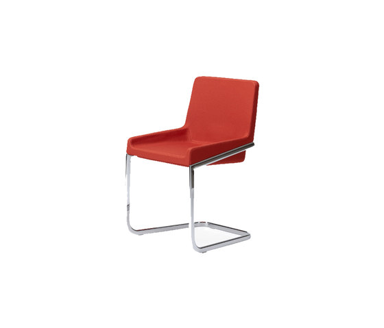 Tonic chair cantilever by Rossin | Visitors chairs / Side chairs